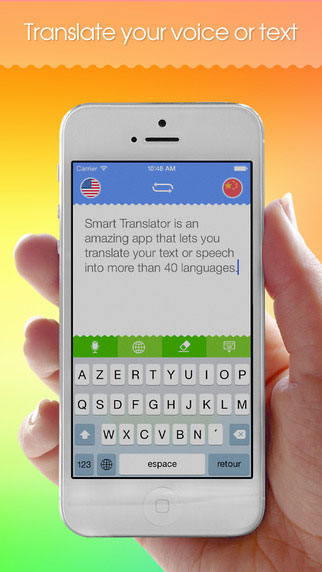 تطبيق Smart Translator لترجمة النصوص والأصوات مباشرة