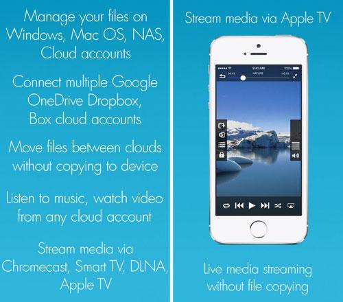 تطبيق Remote Media Manager Pro لإدارة الملفات