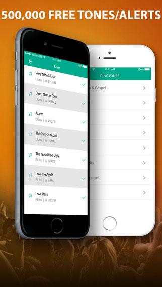 تطبيق Free Ringtone Downloads لتحميل نغمات مختلفة