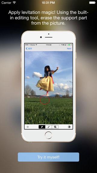 تطبيق Levitagram لإنتاج صور بمؤثرات كثيرة