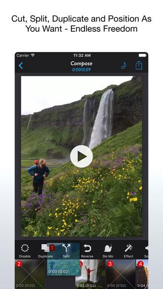 تطبيق Reverse Slow لتسريع وإبطاء الفيديو وتحويله إلى Gif