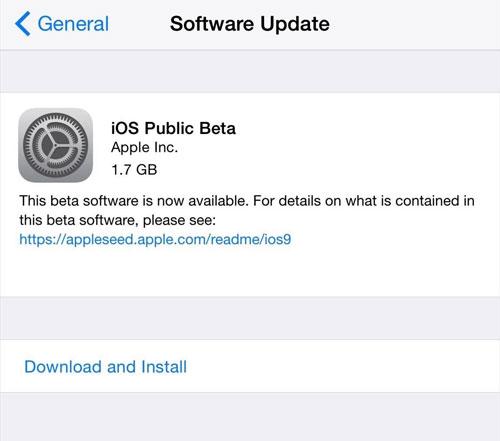تثبيت iOS 10