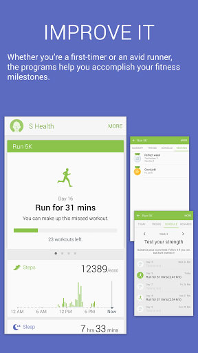 تحديث تطبيق S Health من سامسونج للنشاطات الرياضية