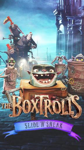 لعبة The Boxtrolls: Slide 'N' Sneak ذات الرسوميات الرائعة