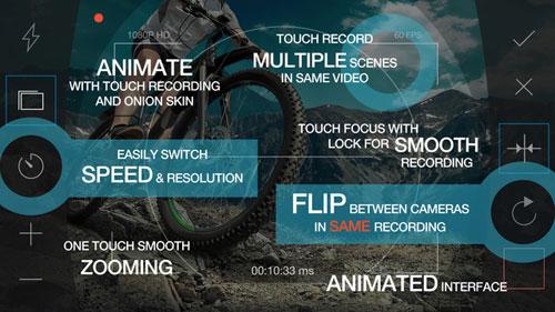 تطبيق RazorCam Pro الاحترافي لتصوير الفيديو