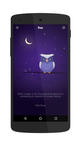 تطبيق Doze لتحسين بطارية جهازك الأندرويد