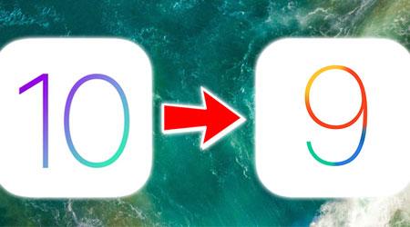 صورة شرح الرجوع من الإصدار 10 إلى 9.3.3 على الأيفون والأيباد