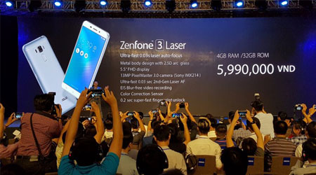 شركة Asus تكشف رسميا عن Zenfone 3 Laser و Zenfone 3 Max
