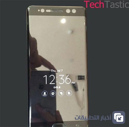 هاتف Galaxy Note 7 سيدعم ميزتي Always on Display و Type-C USB