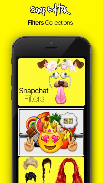 رائع : تطبيق Snap Editor - تعديل الصور قبل ارسالها عبر سناب شات