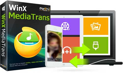 عرض خاص – شرح برنامج WinX MediaTrans لنقل مقاطع الفيديو المحمية للأيفون!