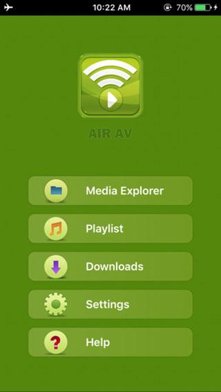 تطبيق AirAV لتشغيل المرئيات عن بعد ودعم جميع الصيغ