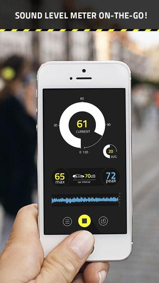 تطبيق dB Decibel Meter PRO لمعرفة قوة ودرجة الصوت
