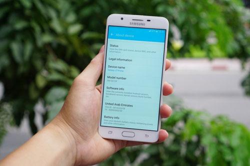 تسريب صور ومواصفات جهاز Galaxy J7 Prime
