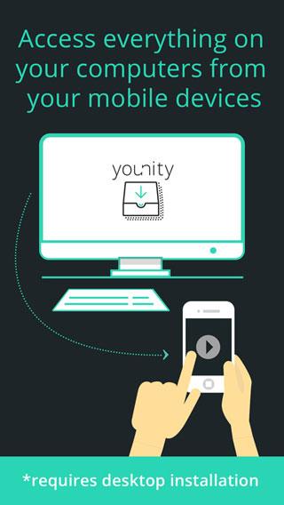تطبيق younity لمشاركة ملفاتك المختلفة عبر كل الأجهزة