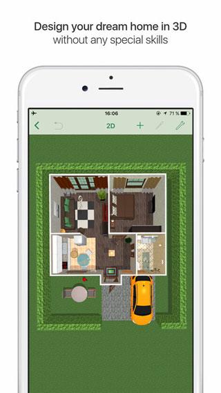 تطبيق Planner 5D لتصميم ديكور المنازل ورؤية الأعمال مباشرة