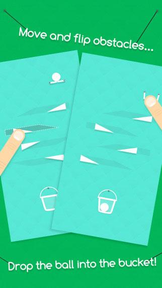 لعبة Drop Flip الممتعة لمحبي الألغاز والتحدي