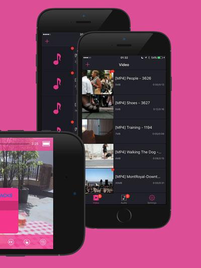 تطبيق QPlayer لتشغيل مقاطع الفيديو المختلفة