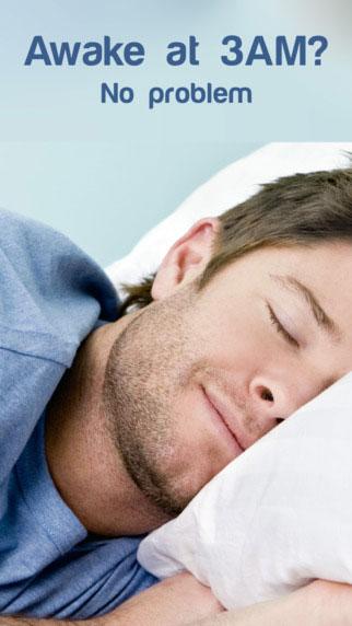 تطبيق Shhh... Sleep in Seconds للحصول على نوم هادئ