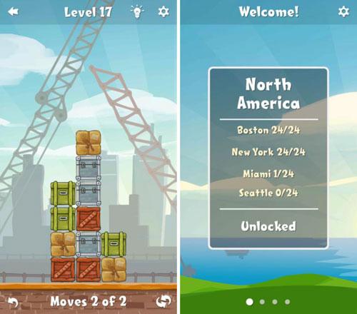 لعبة Move the Box لمحبي الألغاز والتحديات الكبيرة