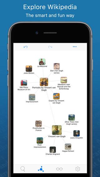 تطبيق WikiLinks موسوعة عالمية ذكية