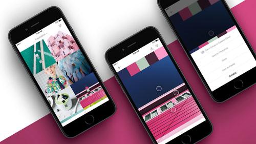 تطبيق PANTONE Studio لتحرير ومونتاج الصور