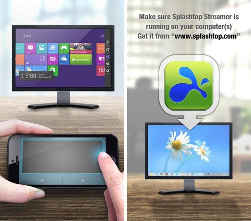 تطبيق Gesture Touchpad for Win8 للتحكم في حاسوبك بالايفون