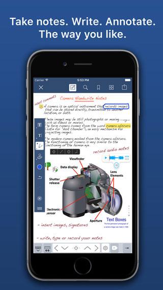 تطبيق Notes Writer لإنشاء الملاحظات وتحرير PDF