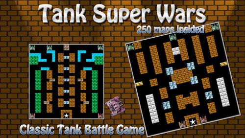 لعبة Tank Super Wars في إصدار جديد مميز