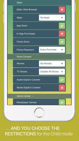 تطبيق Kidslox للتحكم في أجهزة أطفالك