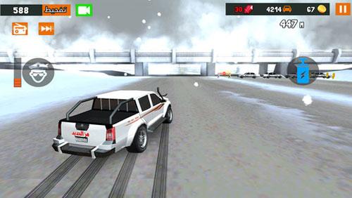 لعبة هز الحديد الشبابية لكل محبي قيادة السيارات بحماس وقوة