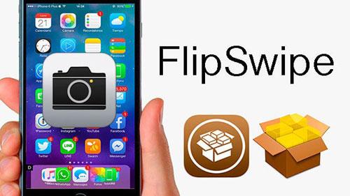 أداة FlipSwipe للتنقل السريع بين الكاميرا الخلفية و الأمامية