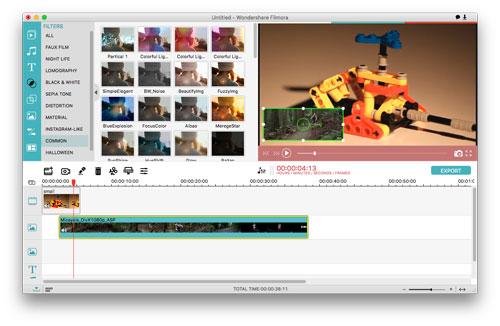 برنامج Filmora Video Editor الاحترافي لتحرير الفيديو