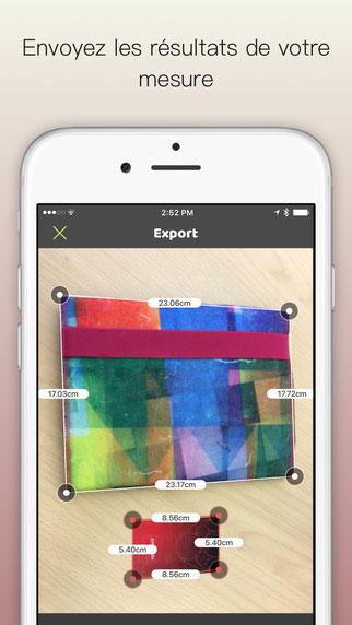 تطبيق VisualRuler لتحويل الأيفون إلى مسطرة ذكية