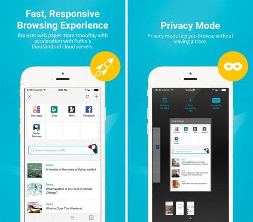 تطبيق Puffin Browser Pro متصفح احترافي بمزايا كثيرة