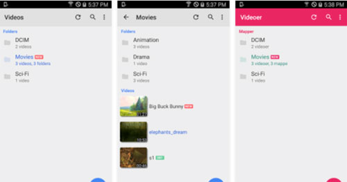 تحديث تطبيق MX Player لتشغيل الوسائط