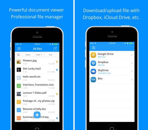 تطبيق Briefcase Pro لإدارة الملفات وتحريرها