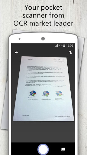 تطبيق لتصوير المستندات وتحرير ملفات PDF