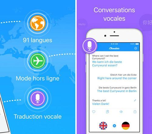 تطبيق iTranslate للترجمة الصوتية والكتابية