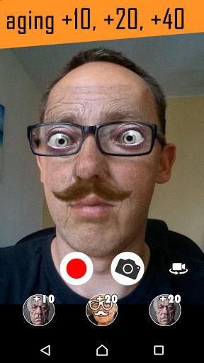 تطبيق Old Face Camera لمعرفة شكلك عندما تصبح عجوزا !