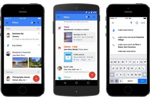 تحديث تطبيق Inbox by Gmail بإضافة مزايا جديدة