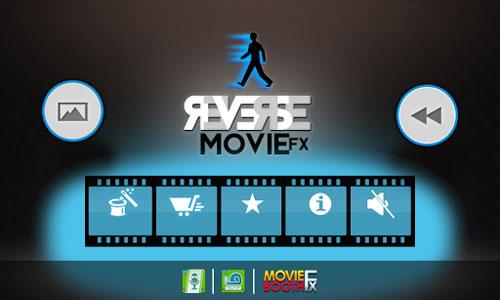 تطبيق Reverse Movie FX لعكس طريقة عرض الفيديو