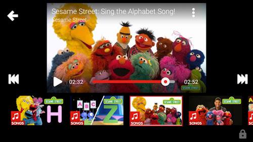 تطبيق YouTube Kids لعرض مقاطع خاصة آمنة ومناسبة للأطفال