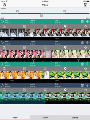 تطبيق Combine Videos Pro لتحرير وإنشاء مقاطع فيديو