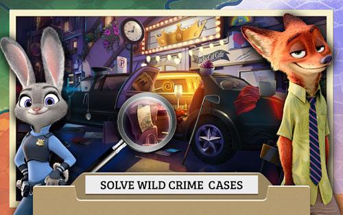 لعبة Zootopia Crime Files لمحبي الألغاز من شركة ديزني