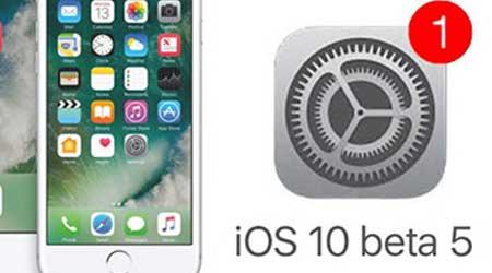 Photo of إطلاق النسخة التجريبية الخامسة من نظام iOS 10 – و هذه أبرز التحسينات !