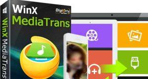 هدية: 10 مفاتيح تفعيل لبرنامج WinX MediaTrans لنقل الملفات للأيفون