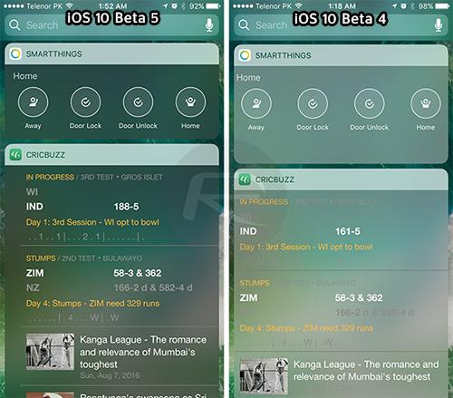 إطلاق النسخة التجريبية الخامسة من نظام iOS 10 - و هذه أبرز التحسينات !
