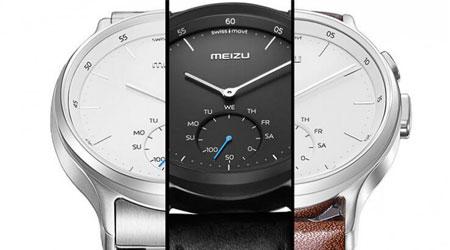 شركة Meizu تكشف عن ساعتها Mix الهجينة النصف ذكية