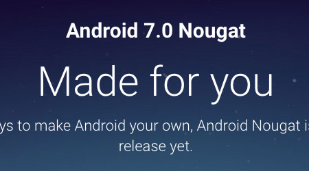صورة رسمياً – بدء إطلاق تحديث Android 7 Nougat للمستخدمين !